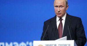 Путин призвал Запад не переходить «красную черту» в отношениях с Россией